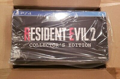 NEW Resident Evil 2 Remake Collector's Edition (PS4) Gamestop Exclusive SEALED!