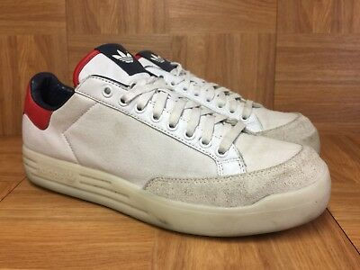new arrivals 0694f 3d455 RARE🔥 Adidas DB David Beckham Rod Laver Limited Edition Mens Sz 11 White  Red