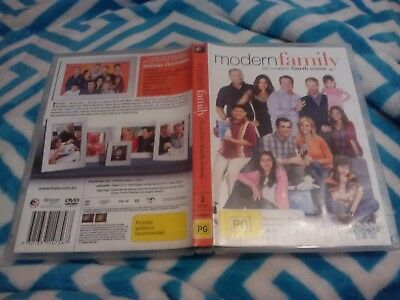 Modern Family : The Complete Fourth (4) Season  3 DVD DISC SET