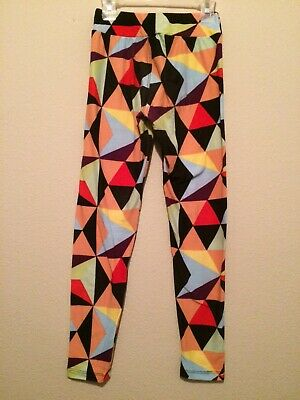 Lularoe Leggings Colorful Abstract Size Tween