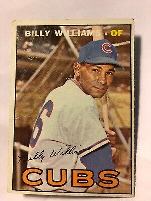 969d2a9f6ec BILLY WILLIAMS CHICAGO Cubs Autographed Signed Majestic Major League ...