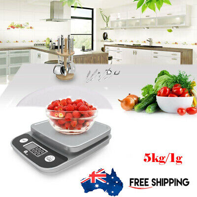5kg Kitchen Food Diet Digital Scale Electronic Weight Scales Balance Weighting