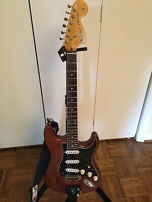 Bluesman Vintage Stratocaster solid mahogany body custom made (70's Fender neck)