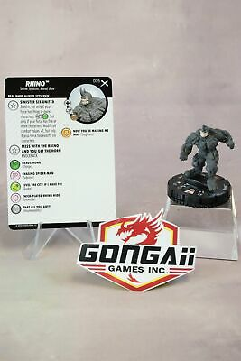 Marvel Heroclix Earth X set Rhino #005 Common