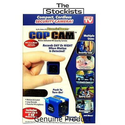 Cop Cam - As Seen On Tv- Free P&H Aust- The Stockists