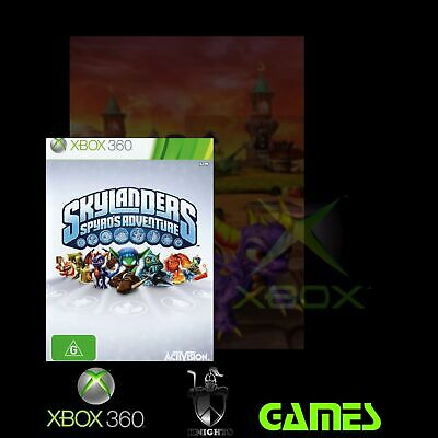 Skylanders Spyro's Adventure (Xbox 360 Game) Pre-Owned, Free Shipping.