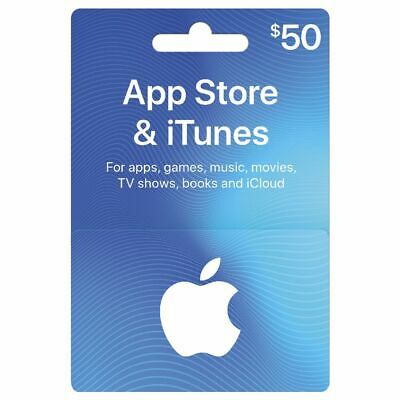 App Store & iTunes Gift Card $50