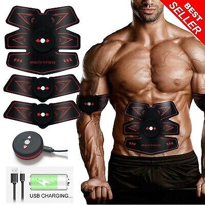 ABS Trainer Muscle Stimulator, Stomach Toner Abdominal Exerciser Slendertone ABS