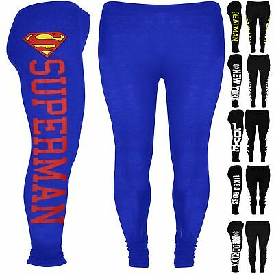Kids Brooklyn Full Length Jegging Girls Superhero New York Like a Boss Legging