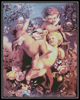 Cherubs - Cross Stitch Chart/Pattern/Design/XStitch