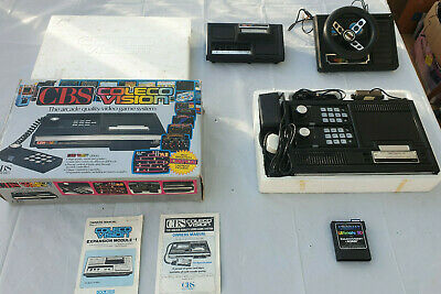 COLECOVISION CONSOLE BOXED New Unused With Ultimate Sd