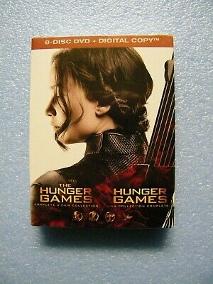 The Hunger Games Complete 4-Film Collection [ DVD + Digital Copy] (Bilingual)