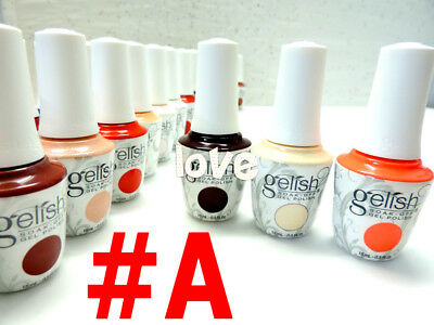 NEW Harmony Gelish Soak-off 0.5fl.oz GelColor Nail Polish Part A /Choose Any