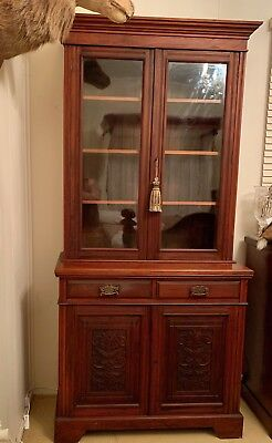 Antique Bookcase/Display Cabinet