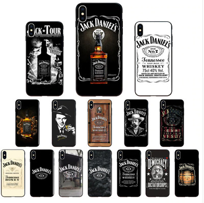 Jack Daniels Whisky High Quality Soft TPU Phone Case Cover for Apple iPhone