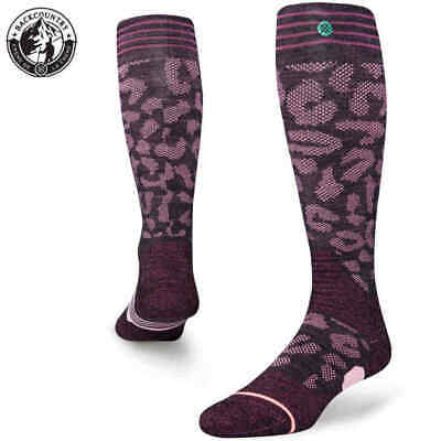 Stance Snow Queen Socke - wine