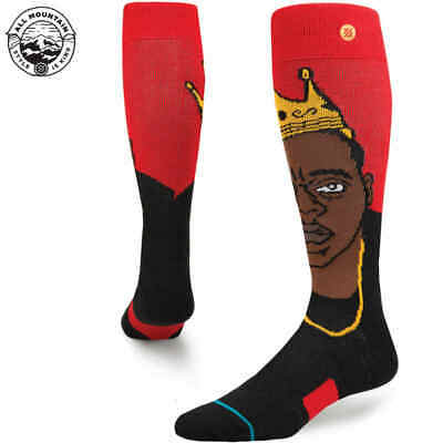 Stance Snow Yo Bigs Socke - red