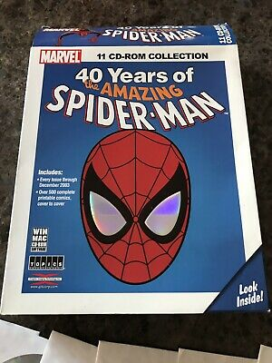 40 Years Of The Amazing Spider-Man 11 CD Collection