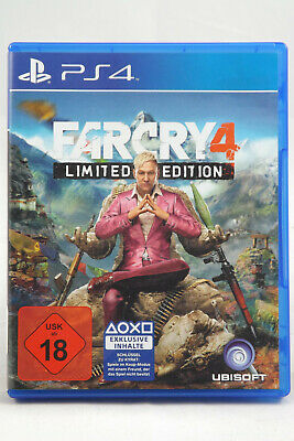 Far Cry 4 Limited Edition (Sony PlayStation 4) PS4 Spiel OVP, PAL, CIB, SEHR GUT