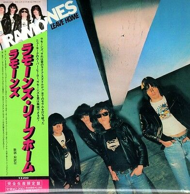 Ramones - Leave Home Cd (1977) Rare Japan-Import + Obi + 15 Bonus-Tracks !!!