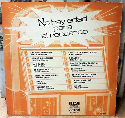 Elvis ARGENTINA ONLY No Hay Edad ORIGINAL 1976 1ST PRESS VS AS Lp MARILYN MONROE