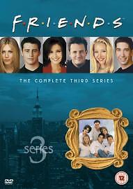 Friends - The Complete Third Season 3 - NEW / SEALED UK DVD SET 3rd Series Three