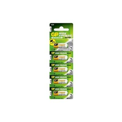 BS228-5x GP Super High Voltage 23A Battery (V23GA / MN21) 5x Blisters UK