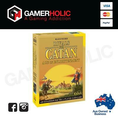 Rivals for Catan Age of Enlightenment Revised Expansion Brand New