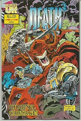 Death 3 #4 : December 1993 : Marvel Comics