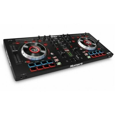Numark Mixtrack Platinum Quad Deck USB Professional DJ Controller  EX-DISPLAY