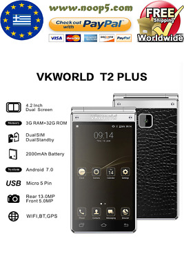 VKWorld T2 Plus Smartphone 4G LTE Dual Sim Android 7.0 EU Shipping