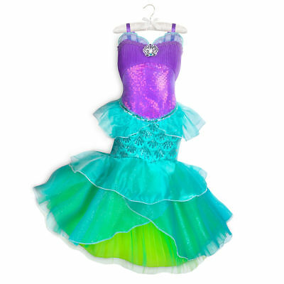 f18a27de22 NWT DISNEY STORE Ariel Costume Dress Princess SZ 4