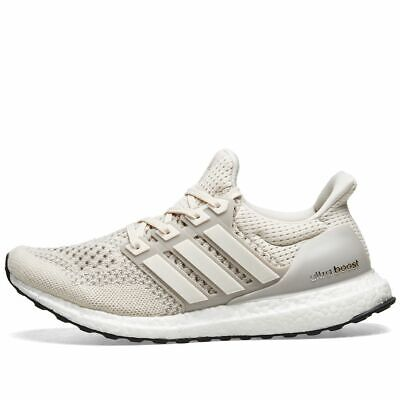 39736f84c Adidas Ultraboost 1.0 CREAM CHALK TALC OFF WHITE BLACK BB7802 sz 7.5 Men's
