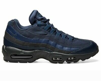 new style ce87a 87a33 Nike Air Max 95 Essentielle 749766 400 Baskets Hommes Bleu Gym Chaussures  Course