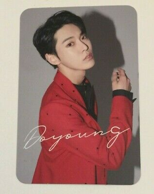 Doyoung Official Chain Japan Album Photocard Photo Card Nct127 Nct 127 1St Mini