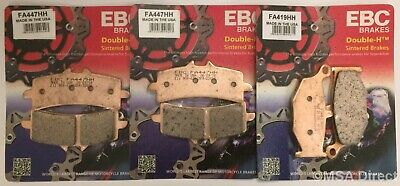 Suzuki GSX1300R Hayabusa X-K7 1999-2007 Set of EBC HH Front /& Rear Brake Pads