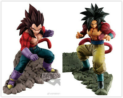 Dragon Ball Z super saiyan 4 Vegeta & Son Goku DOKKAN BATTLE 4TH FIGURE Frieza