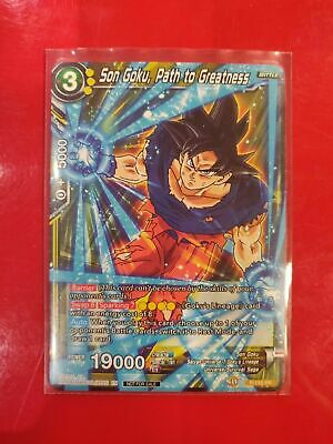 DBS Son Goku, Path to Greatness P-115 PR Near Mint