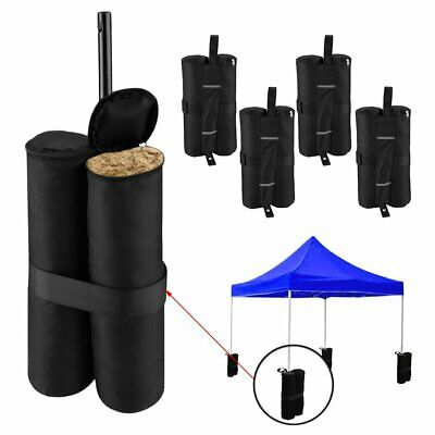 4X Portable Canopy Tent Legs Weight Bags Outdoor Shelter Windproof Sand Bags JJ