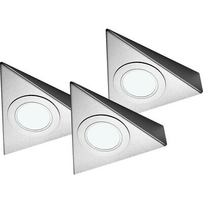 NEW Sensio LED Low Voltage Triangle Under Cabinet Light Kit 24V Cool White 85lm