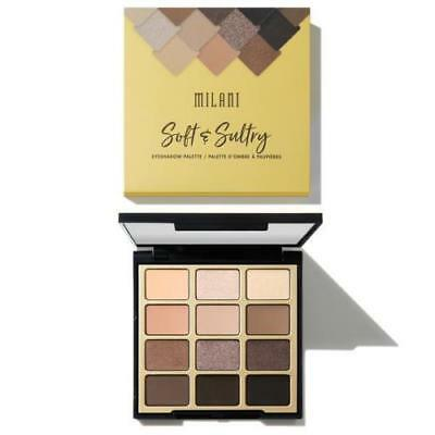 Milani Soft & Sultry Eyeshadow Palette ~ NEW IN SEALED BOX