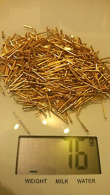 75 grams Fully Gold Plated Pins gold recovery scrap
