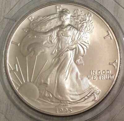 Usa 1995 - 1 Dollar - Liberty / Silver Eagle - 1 Oz. Silver Fdc