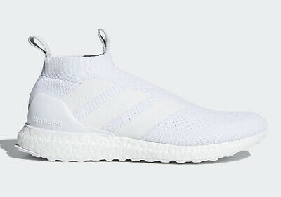 953dcf4ab Adidas Ultraboost ACE A16+ TRIPLE WHITE ALL ULTRA BOOST AC7750 13 Soccer  Running