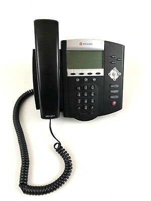 Polycom Phone HANDSET Business WCorded SoundPoint 450 VoIP Optimized Conference