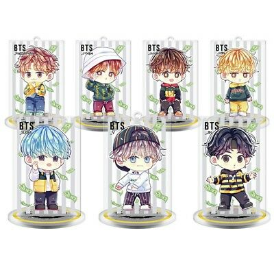 Kpop Bts Bangtan Garcons Personnage Dessin Anime Stand Plaques