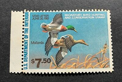 WTDstamps - #RW47 1980 - US Federal Duck Stamp - Mint OG NH