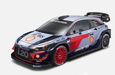 TAMIYA 93045 1/10 HYUNDAI i20 COUPE WRC BODY FOR TT-02 CHASSIS(UNPAINTED)