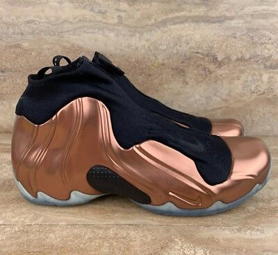 Nike Air Flightposite Premium Copper Black Mens Basketball Shoes