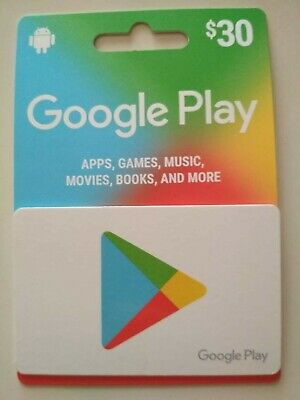 Google Play Gift Card $30 AUD (Code Delivery via Email)